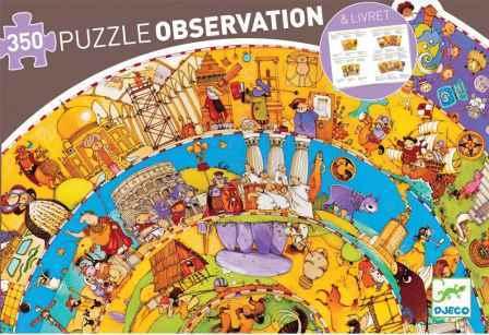 PUZZLE-OBSERVACION-HISTORIA-350-PZS-DJECO